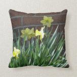 Daffodil Garden Pillows
