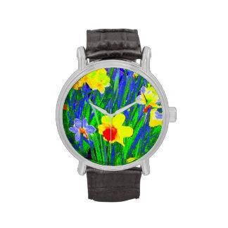 'Daffodil Impressionism' Watch