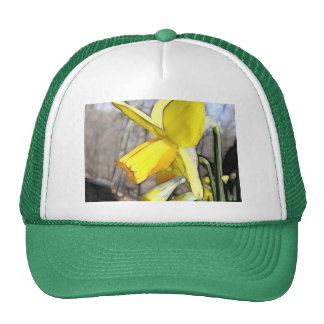 Daffodil In The Spring Woodlands Trucker Hat