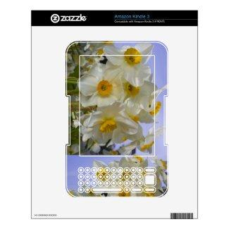 Daffodil Kindle Skin musicskins_skin