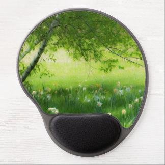 Daffodil Meadow Gel Mouse Pad