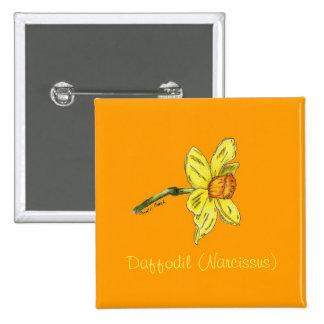 Daffodil (Narcissus) Button