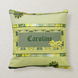 Daffodil Personal Customised Pillow