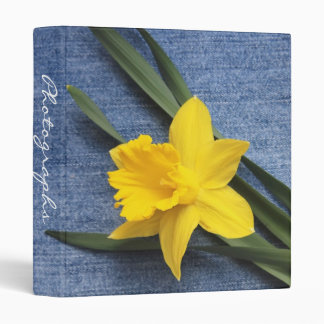 Daffodil Photo Album Binder