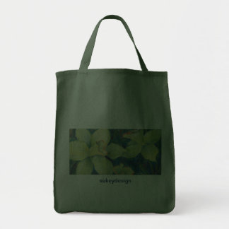 Daffodil Pistachio Grocery Tote Grocery Tote Bag
