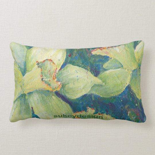 Daffodil Pistachio Pillow