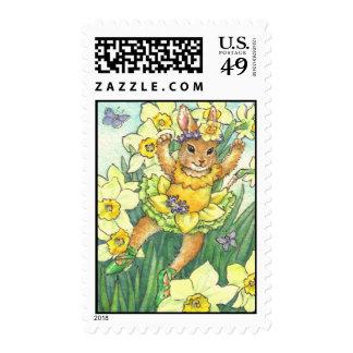 Daffodil postage stamp