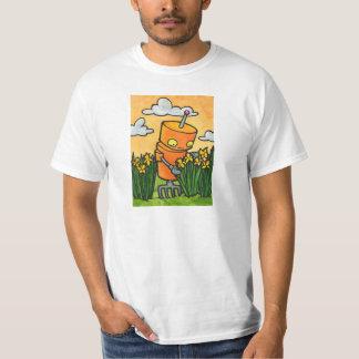 Daffodil Robot T-Shirt