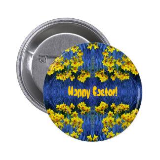 Daffodil Spring Fantasy Button