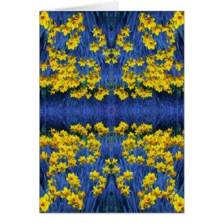 Daffodil Spring Fantasy Card