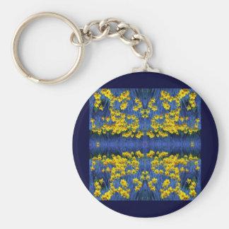 Daffodil Spring Fantasy Keychain