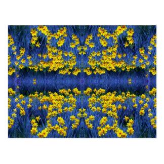 Daffodil Spring Fantasy Postcard