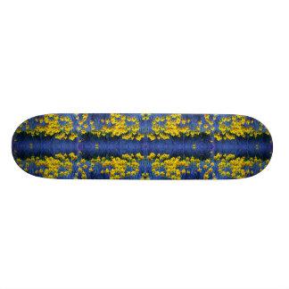 Daffodil Spring Fantasy Skateboard