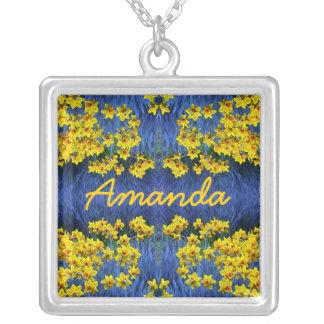Daffodil Spring Name Pendant