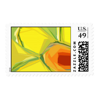 Daffodil Spring Stamps