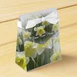 Daffodil Tent Style Favor Box