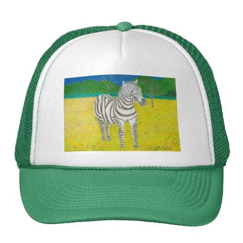 Daffodil The Zebra Hat by Julia Hanna