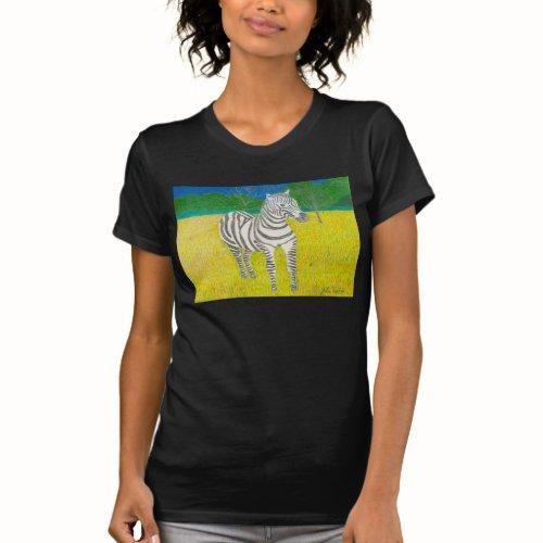 Daffodil The Zebra Shirt by Julia Hanna