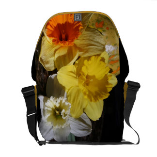 Daffodil Threesome Courier Bag
