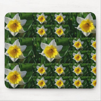 Daffodil Tic Tac Toe Mouse Pad