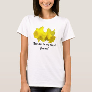 Daffodil Twins, You are in my heart Japan T-Shirt
