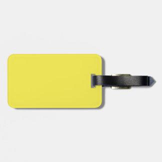 Daffodil Yellow Luggage Tags