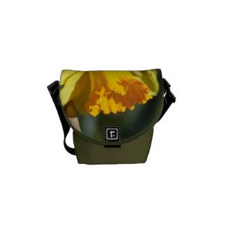 Daffodil Yellow - Mini Messenger Bag Outside Print