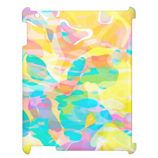 Daffodil Yellow Pastel Abstract Case For The iPad