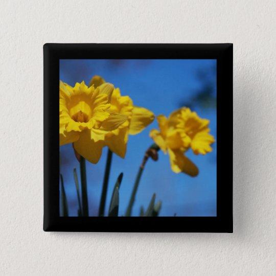 Daffodills Button