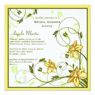 Daffodills Invitation