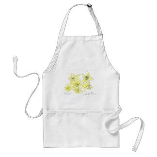 Daffodils Adult Apron