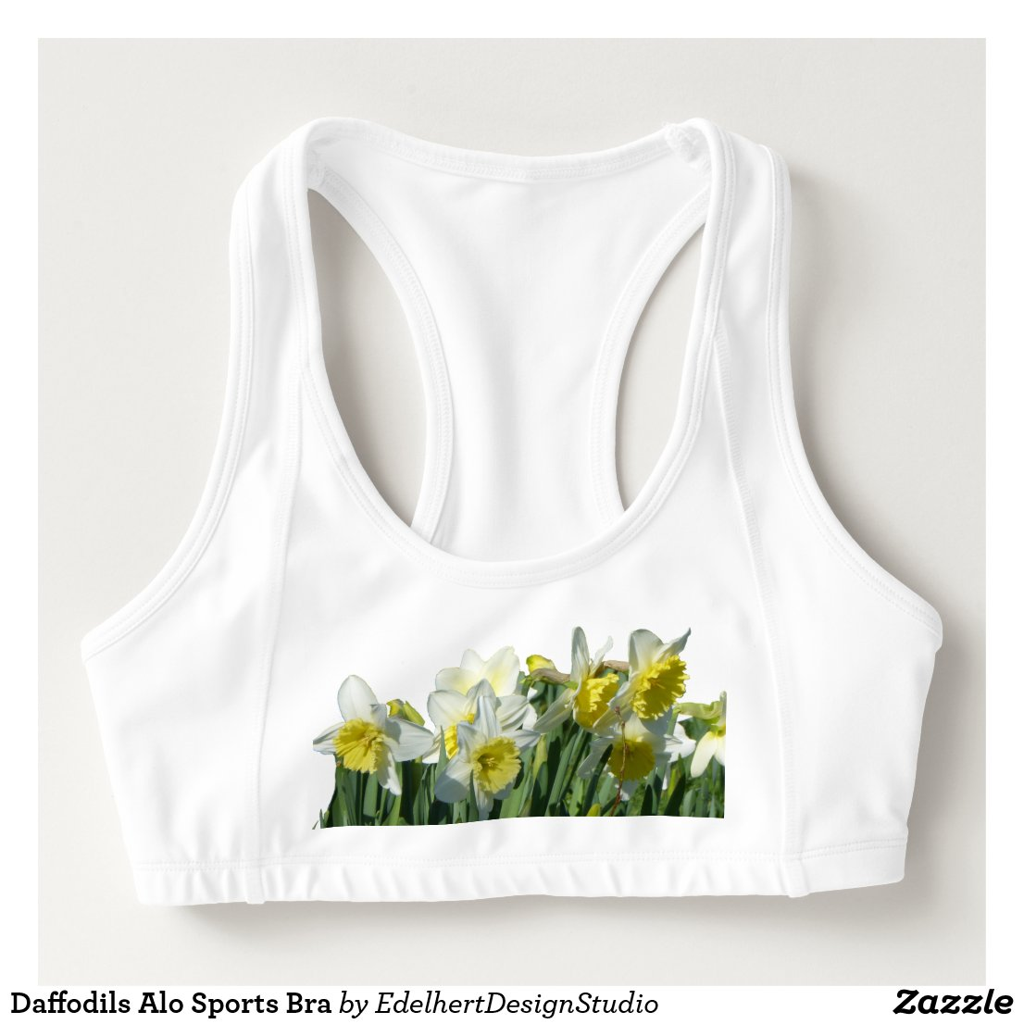 Daffodils Alo Sports Bra