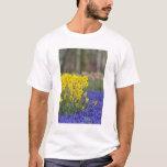Daffodils and Grape Hyacinth, Keukenhof T-Shirt