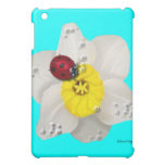 Daffodils and Ladybugs iPad Mini Case