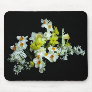 Daffodils and Lilacs Mouse Pad