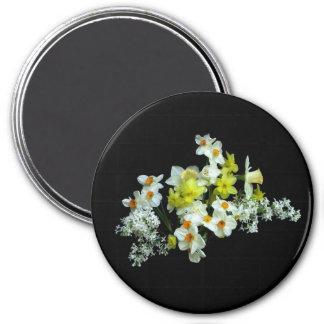 Daffodils and Liliacs Refrigerator Magnets