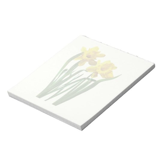 Daffodils At Attention Notepad
