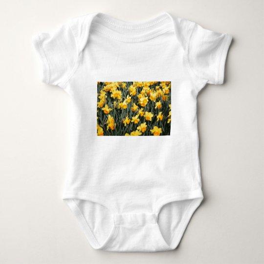 Daffodils Baby Bodysuit