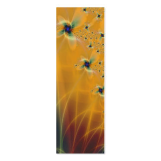 Daffodils Bookmark Double-Sided Mini Business Cards (Pack Of 20)