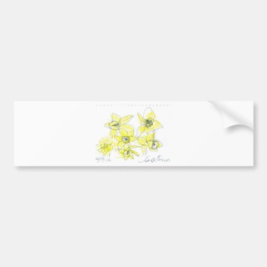 Daffodils Bumper Sticker