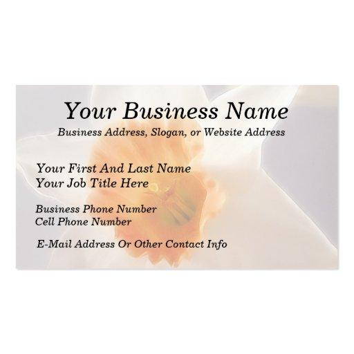 Daffodils Business Card