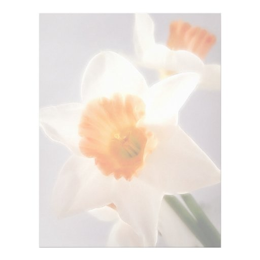 Daffodils Customized Letterhead