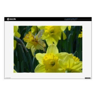 Daffodils Decal For Laptop