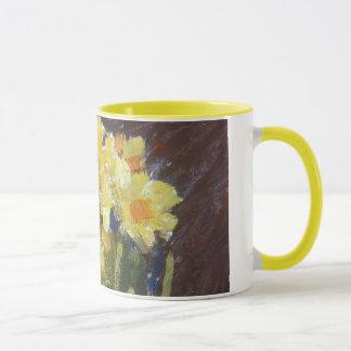 'Daffodils' detail mug
