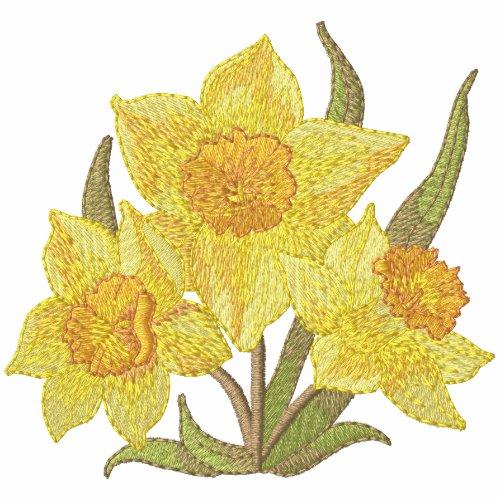 Daffodils embroideredshirt