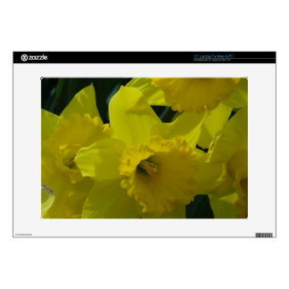 """daffodils field skin for 15"""" laptop"""