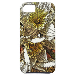 Daffodils growing on your phone iPhone SE/5/5s case