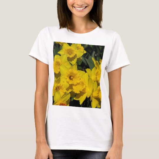 daffodils in spring time 2 T-Shirt