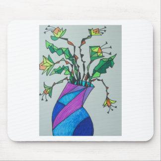 Daffodils in vase mousepad