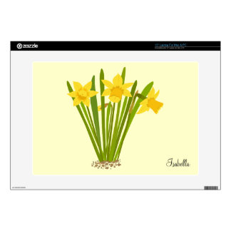 Daffodils Laptop Cover Skin For Laptop